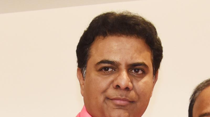 Telangana information technology minister K T Rama Rao