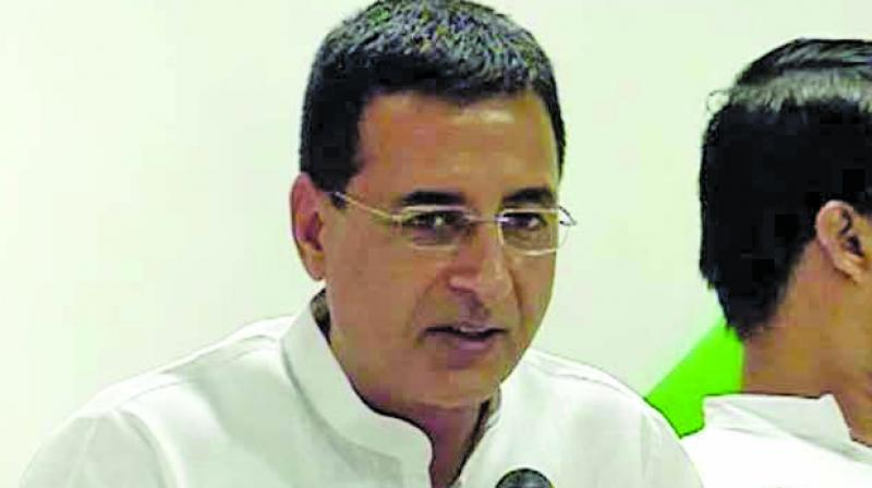 'Foreign Minister-level talks with Pakistan begin, business as usual!,' Surjewala added. (Photo: File)