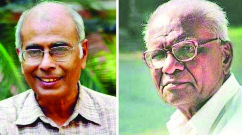 Narendra Dabholkar and Govind Pansare