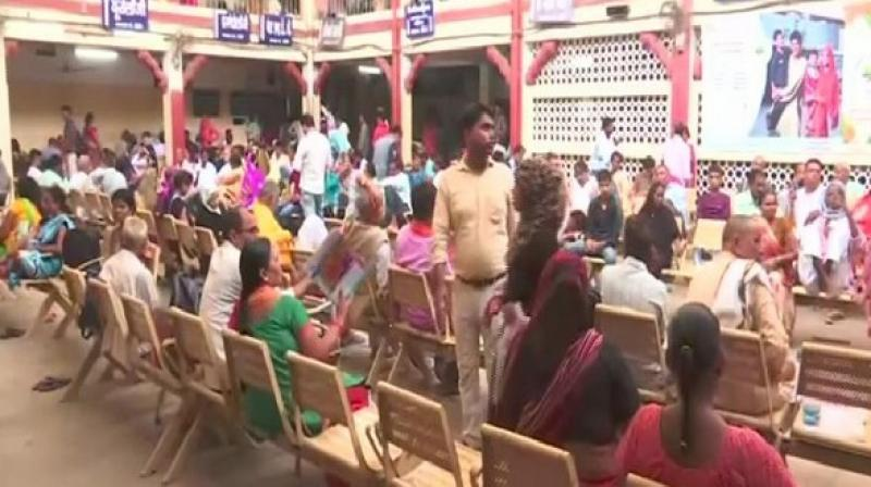 The doctors here went on a strike on Monday, demanding implementation of recommendations of the Seventh Pay Commission, leaving health facilities on halt in Sir Sunder Lal Hospital. (Photo: ANI)