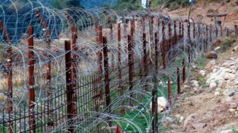 A civilian was injured in Pakistani firing in Balnoi village along the LoC in Mendhar sector of Poonch district on Saturday. (Photo: Representational)