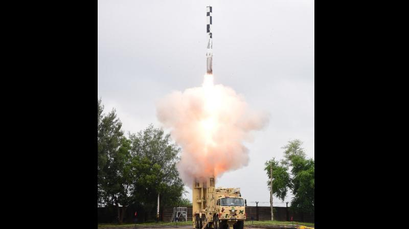 The surface-to-surface cruise missile. (Twitter)