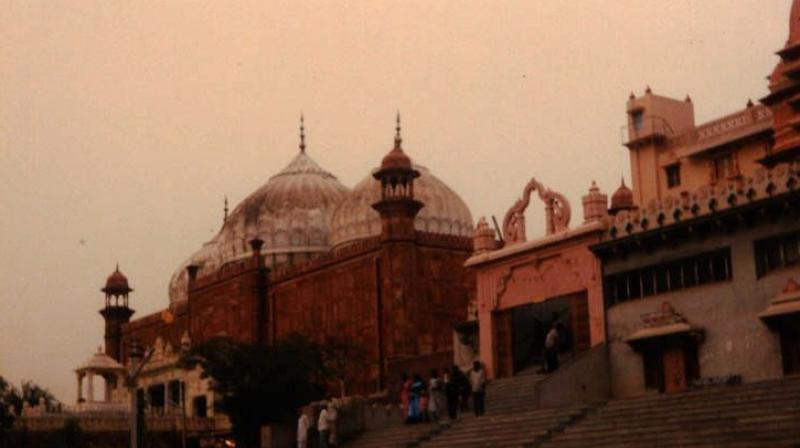 Shahi Idgah and Krishna Janmabhoomi temple in Mathura. (Wikimedia)