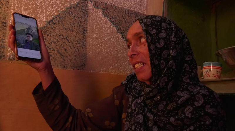 Muhammad Imtiaz's mother Shameema Akhtar.