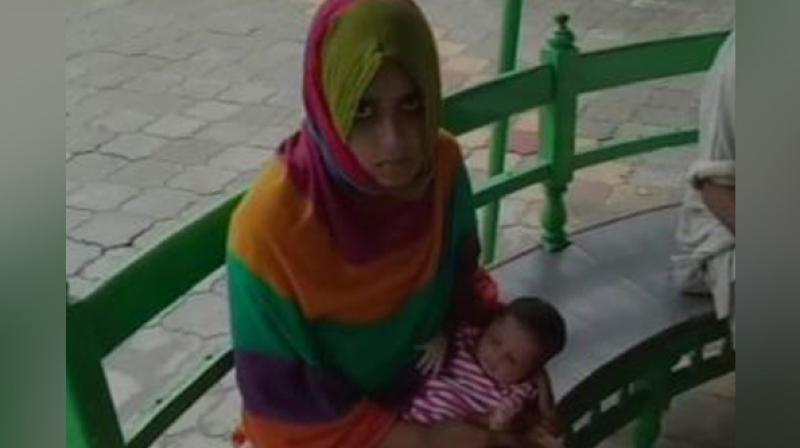 'My husband and his family abused me and have asked to get a bike and money from my parents as I have given birth to a girl and not a boy child,' the victim said. (Photo: ANI)