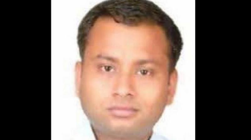 Anurag Tiwari (Photo: ANI Twitter)