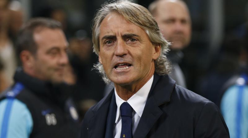 Italy captain Roberto Mancini. AP Photo