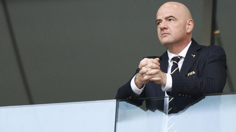 FIFA President Gianni Infantino. AP Photo