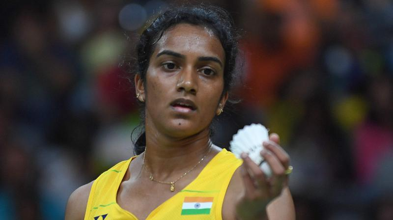 PV Sindhu admitted that it has always been difficult to play against Okuhara as there have always been long and tough rallies when they face each other.(Photo: AFP)