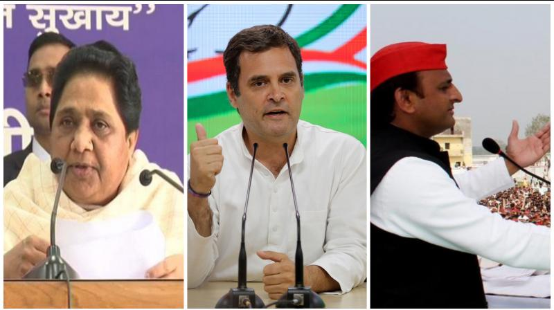 However, what can be safely assumed now is that the Grand Old Party of India has actually done was to gnaw away at a large chunk of the Muslim votes from the SP-BSP kitty, thus helping the BJP surge ahead. (Photo: ANI | AP | PTI)