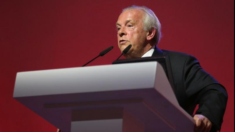 Gordon Taylor, chief executive of Professional Footballers' Association (PFA).