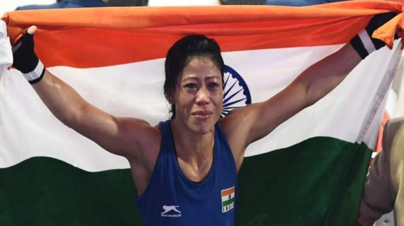 India's boxing queen, Mary Kom.
