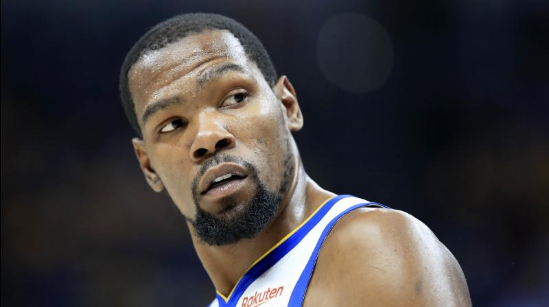 Kevin Durant of Brooklyn Nets. AFP Photo
