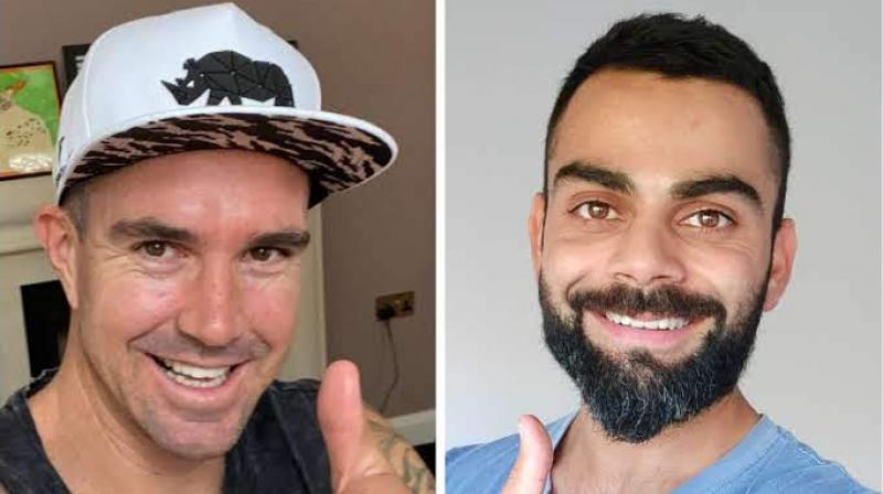 Kevin Pietersen and Virat Kohli who had live Instagram chat on Thursday.