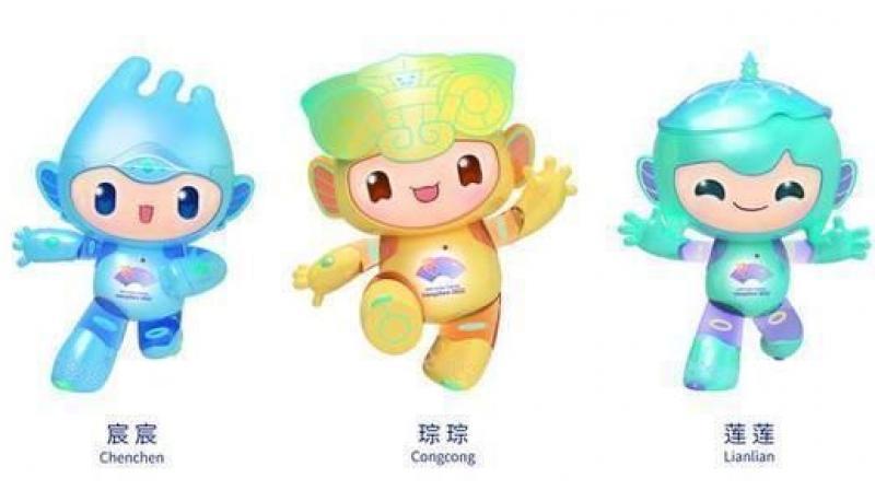Mascots of the 2022 Hangzhou Asian Games.