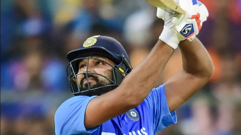 India's T20 opening batsman Rohit Sharma. PTI Photo