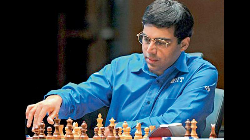 Former world champion Viswanathan Anand. DC File photo