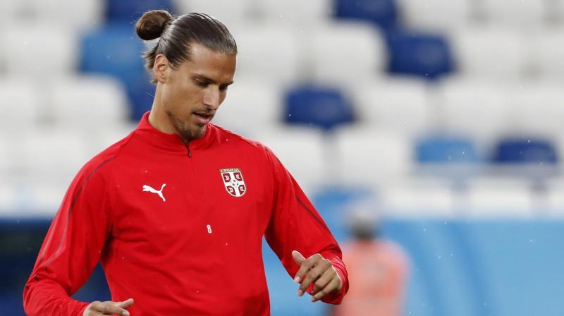 Saudi Arabian club Al Ittihad striker Aleksander Prijovic. AP Photo