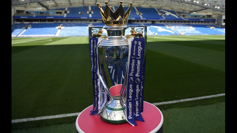 English Premier League Trophy. AFP Photo