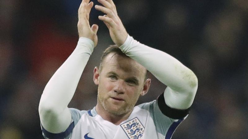 Derby's Wayne Rooney. AP Photo
