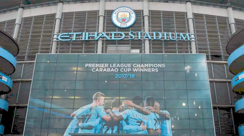 Manchester City's Etihad Stadium.