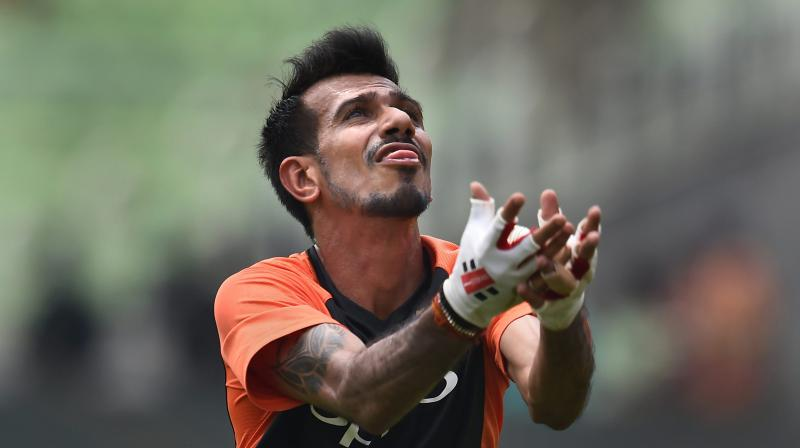 Yuzvendra Chahal. PTI Photo