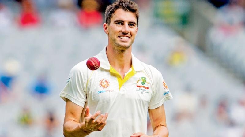 Australia pace bowler Pat Cummins. AP Photo