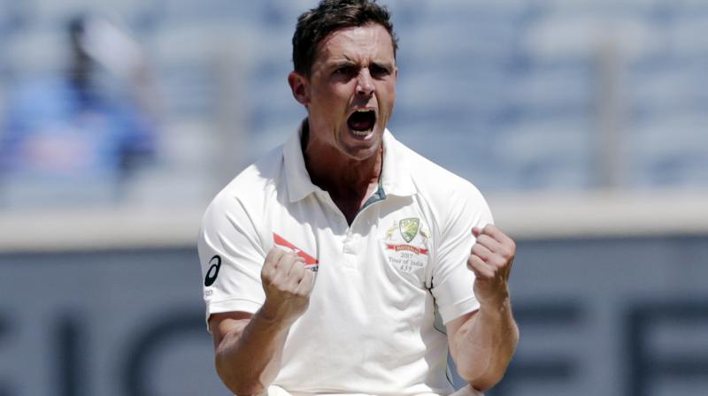 Just retired Australian spinner Steve O'Keefe. AP Photo