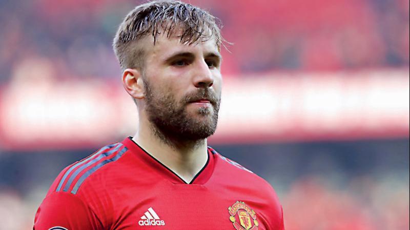 Manchester United's Luke Shaw. DC File Photo