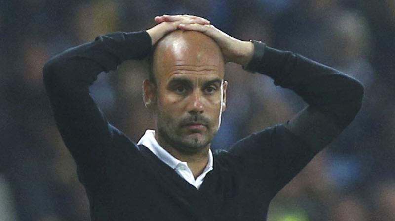Manchester City manager Pep Guardiola. AP Photo