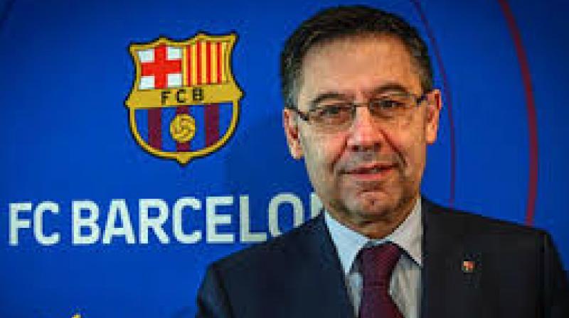 Barcelona president Josep María Bartomeu.