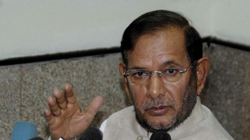 Earlier on Sunday, JD(U) leader Sharad Yadav hit out on the BJP for failing to keep the promise of bringing back black money stashed abroad. (Photo: PTI)
