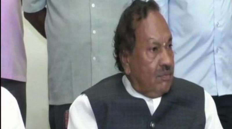 The Rural Development Minister said the disqualified MLAs were to be credited with the formation of the BJP government in the state. (Photo: ANI)