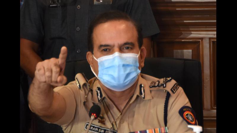 Mumbai Police Commissioner Param Bir Singh. (PTI)