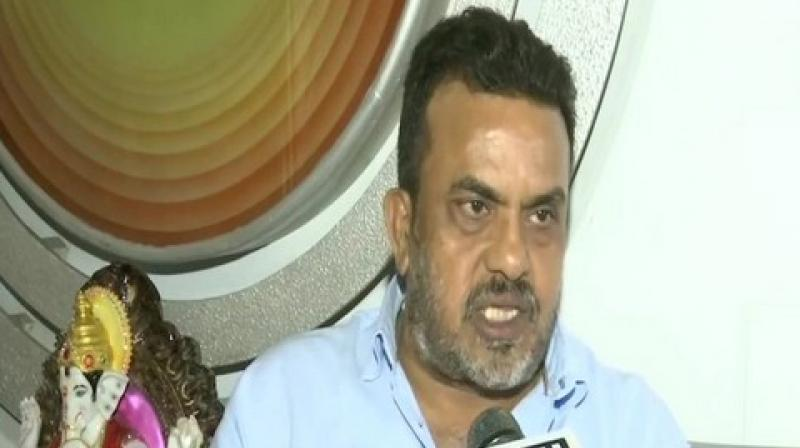 Notably, Nirupam had earlier said that he won't be campaigning for the Congress party for the Maharashtra Assembly elections. (Photo: ANI)