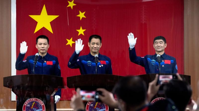 Shenzhou 12 space mission: China will send three astronauts -- Nie Haisheng, Liu Boming, and Tang Hongbo -- as its first crew to a new space station today. (AP Photo)