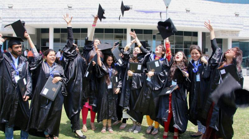 Over 700,000 Indian students are studying abroad.