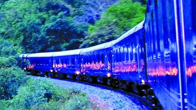 The Deccan Odyssey is a special luxury train.
