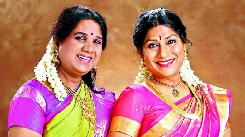 The soulmates, Sakthi and Narthaki