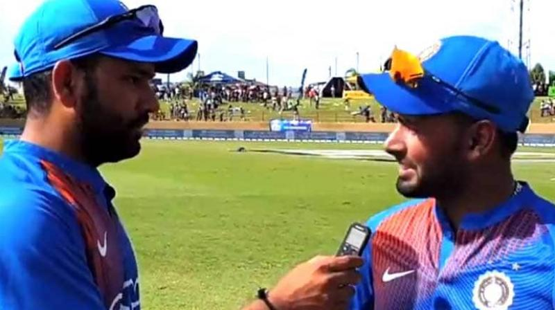 Rohit Sharma said that just like Rishabh Pant's unimpressive performances are highlighted, there should be the focus on good things also. (Photo: BCCI)