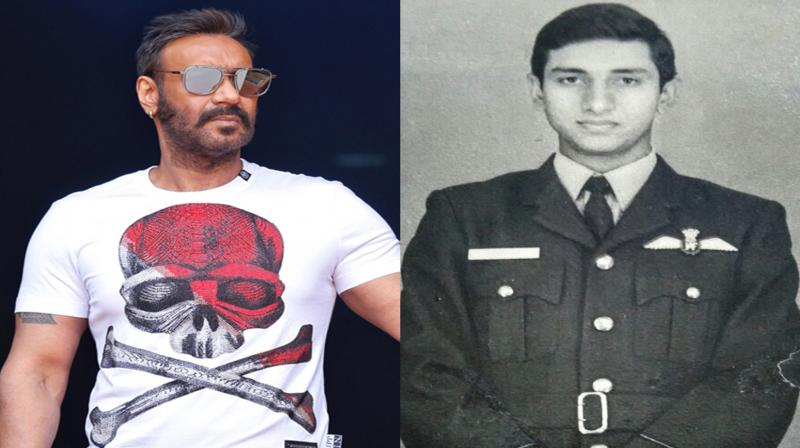Ajay Devgn to play Squardron leader Vijay Karnik in 'Bhuj: The Pride of India'.