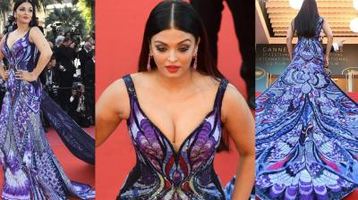 Aishwarya Rai Bachchan at Cannes 2018. (Photo: AP/ AFP)