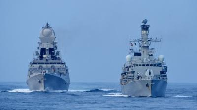 India, UK conduct mega tri-services wargame in Arabian Sea