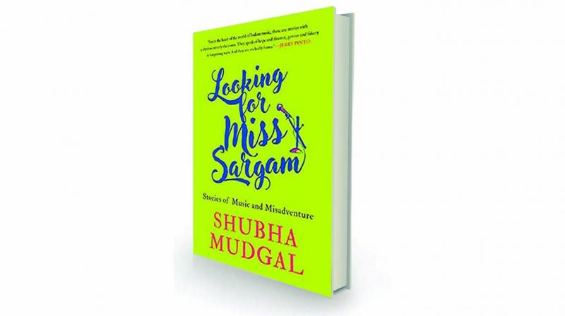 Looking for miss sargam: Stories of music and misadventure, By Shubha Mudgal Speaking Tiger, Rs 499.