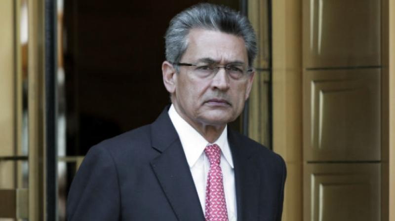 Former McKinsey head Rajat Gupta.