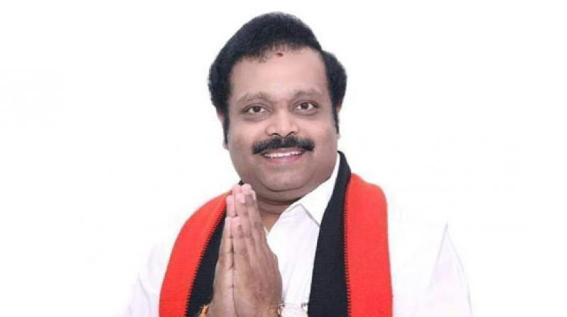 DMK candidate Kathir Anand defeated AIADMK nominee AC Shanmugham in the bypoll, which was rescinded before the General Elections in May after unaccounted cash was allegedly recovered from an office said to be that of a close associate of Anand. (Photo: ANI)