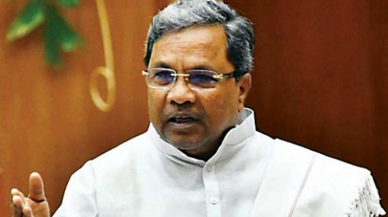 Siddaramaiah, who had won the Assembly elections from Badami, has not visited the constituency even after people requested him to attend various programs. (Photo: File)