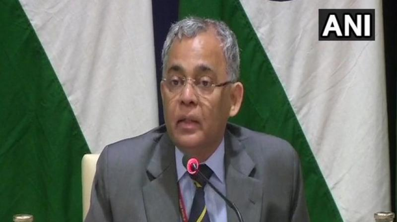 Responding to a question regarding a probable India-Pakistan meeting, or even a bilateral between India and Iran, the Secretary (West), Gitesh Sarma, said that there is limited time available due to which 'requests for other bilaterals will be processed as we go along.' (Photo: ANI)