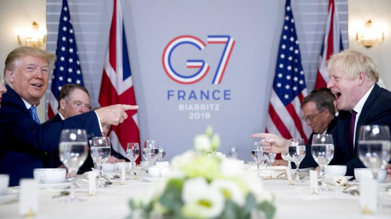 Johnson desperately needs a US trade deal post-Brexit, as Britain will lose its easy access to the EU's single market. (Photo: AP)