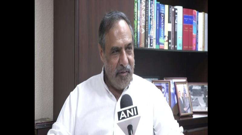 'Everybody knew the government in Delhi knew, the Home Ministry knew, so what was the problem?' Anand Sharma said. (Photo: ANI)